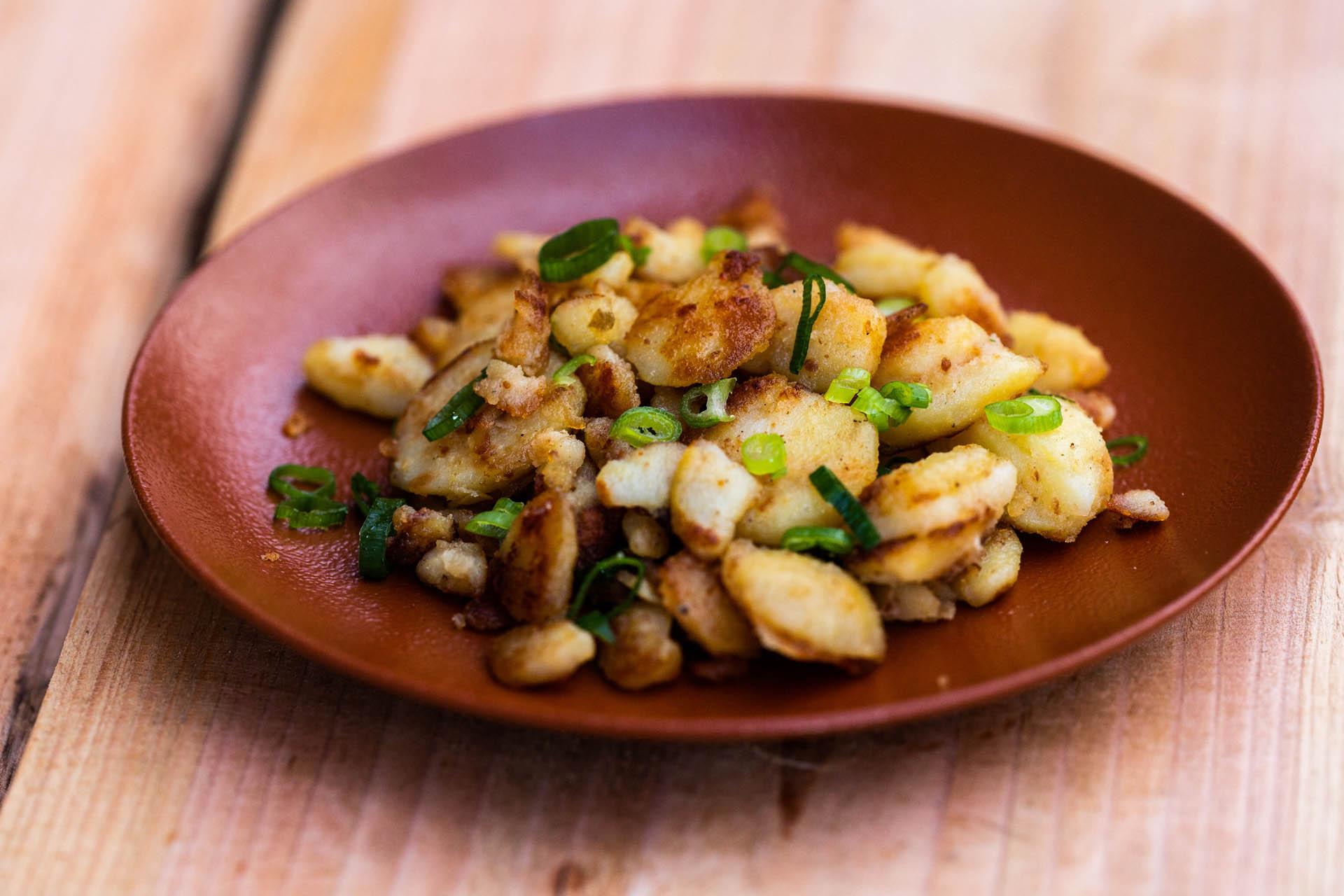 Portion Bratkartoffeln